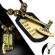 Kožený náhrdelník Sekera , Bali korálky CTH513T