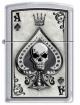 Zippo Ace Skull Card 4858
